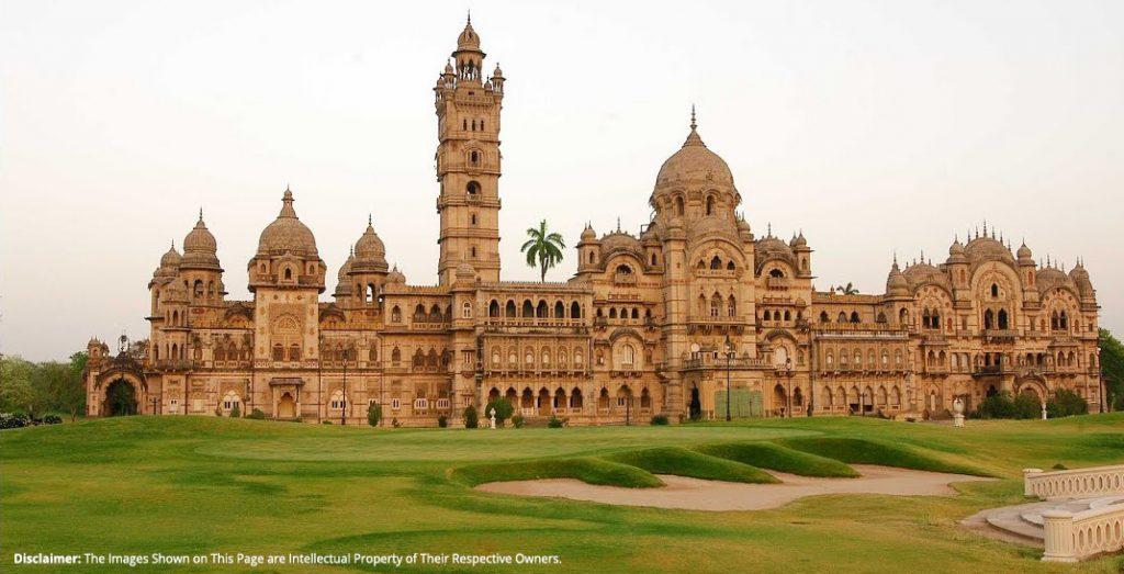 The Laxmi Vilas Palace in Vadodara Gujarat India